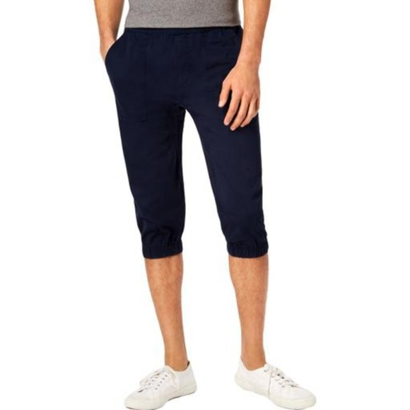 American Rag Other - Mens Cropped Jogger Pants American Rag Navy Blue